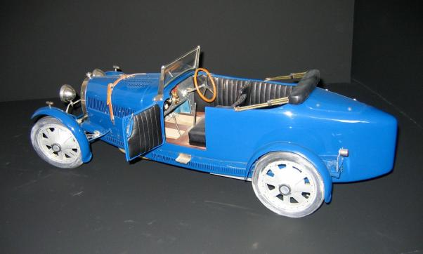 Very Rare Scratchbuilt From French Model Maker Marc Antonetti Early 1980s