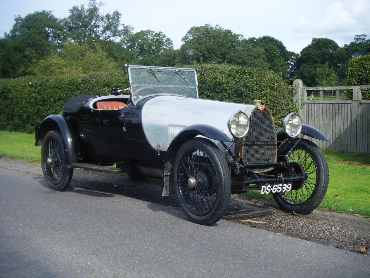 1924 Bugatti Type 30 Dual Cowl