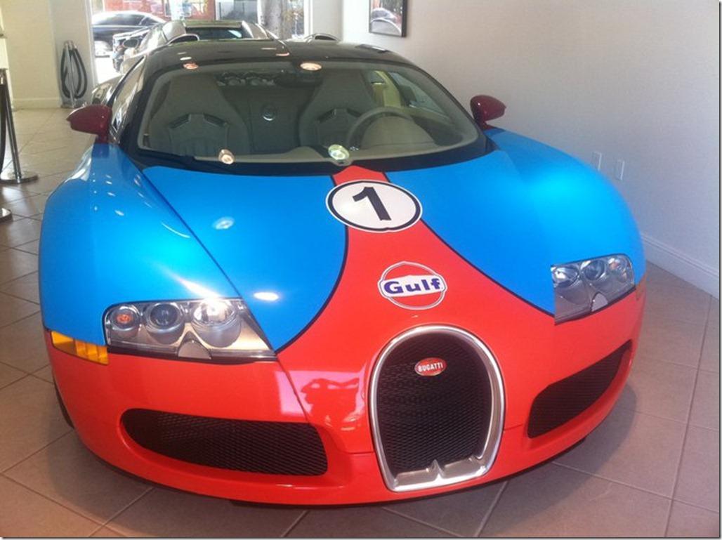 Bugatti Veyron in Gumball 3000