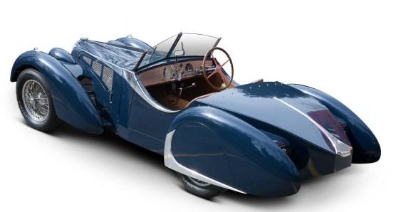 Description Of 1938 Bugatti Type 57C U0027Cäsar Schaffner Special Roadsteru0027  Coachwork In The Style Of Corsica