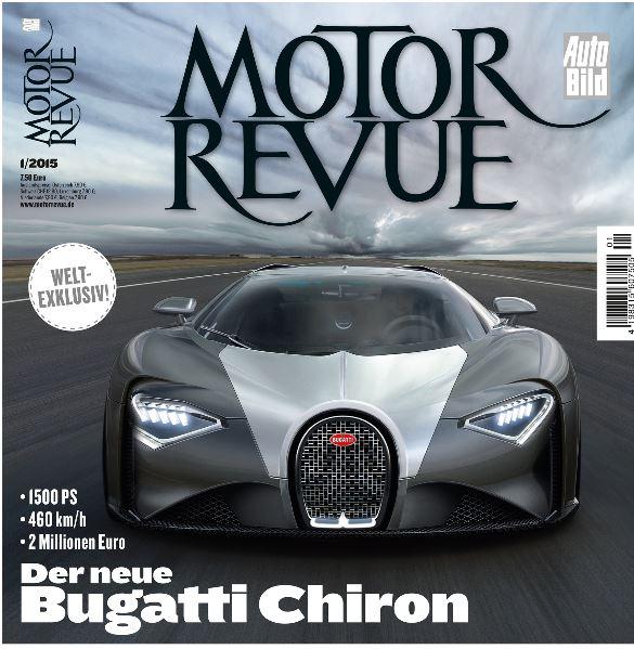2016 - [Bugatti] Chiron  Chiron