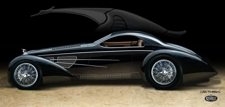 1937 type 57s bugatti nasty coupe replica. Black Bedroom Furniture Sets. Home Design Ideas