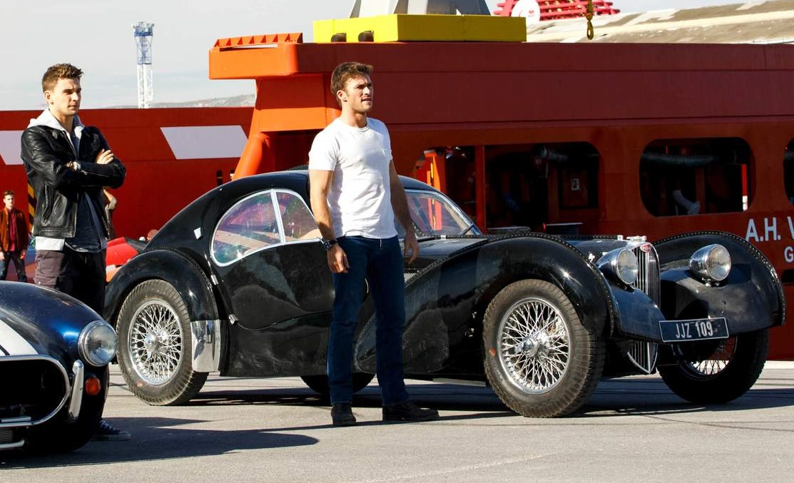 Which Bugatti Did They Use For The Movie The Car Looks Very Good Indeed With The Right Dimensions Right Wheels And