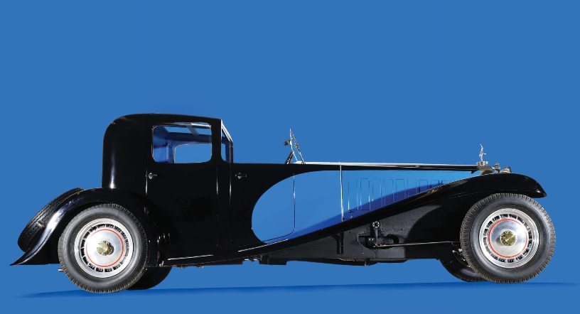 At that time the Bugatti T43