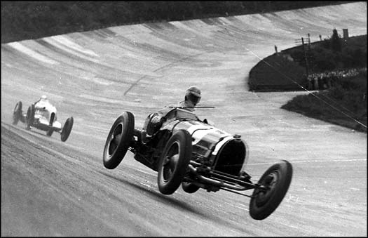 Brooklands racetrack