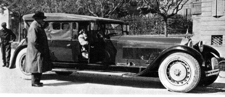the Bugatti revue A visit to the bohemians of carbuilding