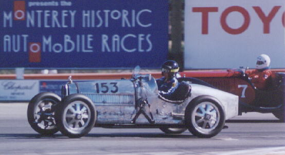 It's actually a standard Leon Bollee (a French cyclecar/voiturette),