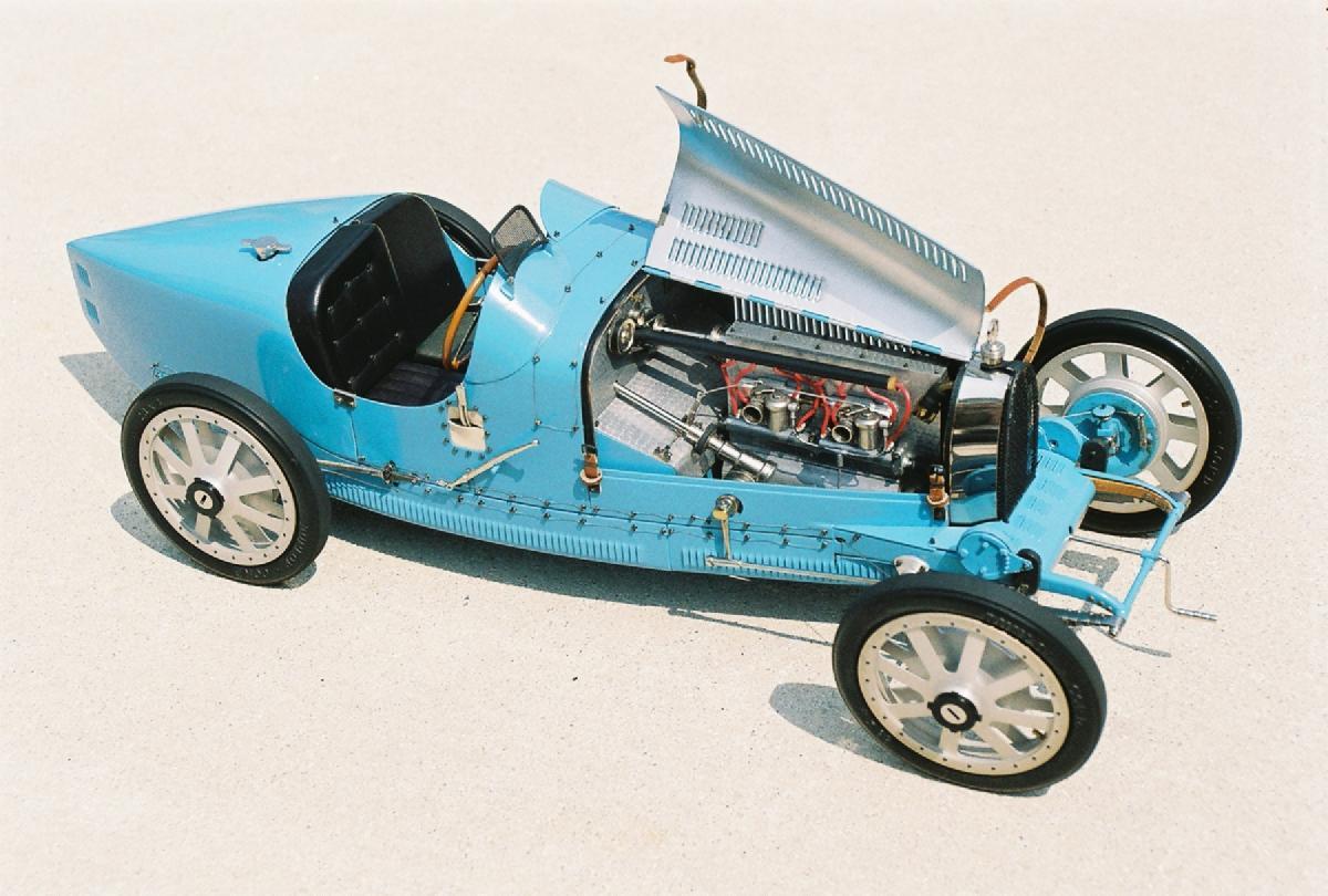 Bugatti miniature models