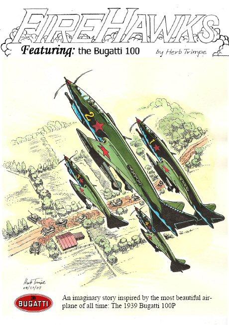 The Bugatti 100P record plane - Book