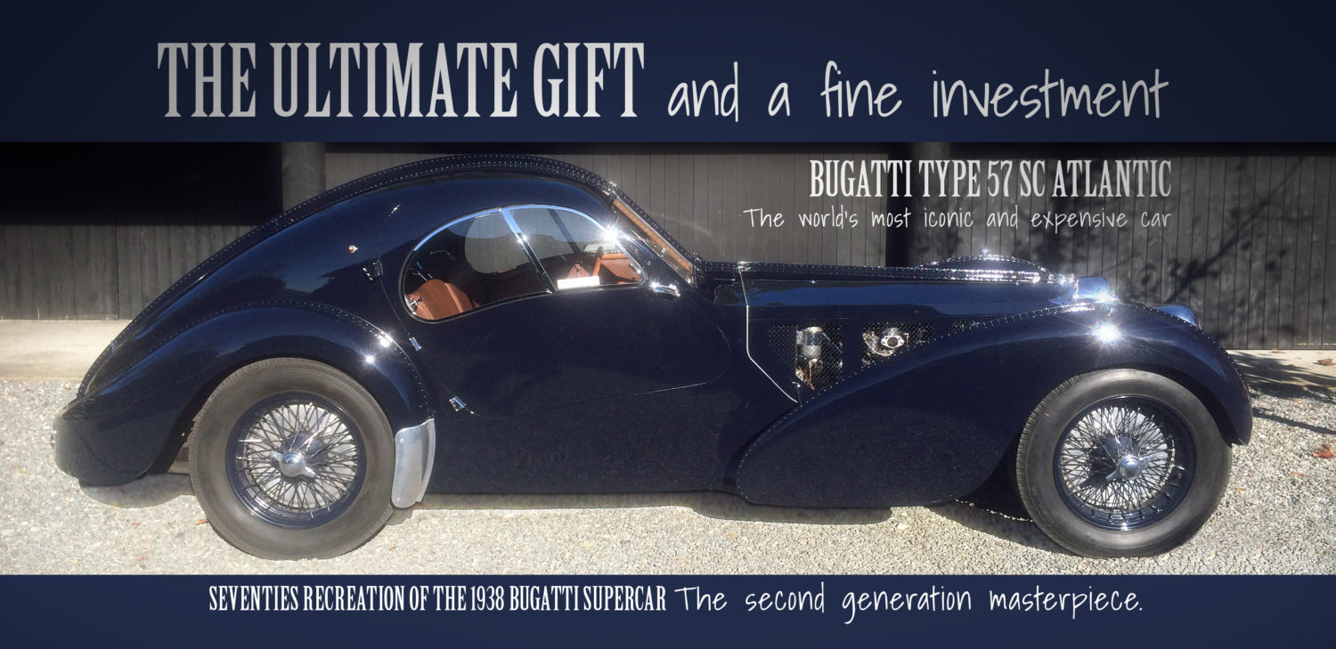 Post Ettore Bugattis And Bugatti Replicas For Sale